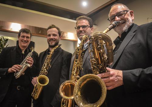 Sax-Blue-Craig-Parish,-Cameron-Harker,-Shane-Landry,-Rod-Barnes