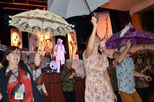 Umbrella-Parade